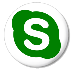 sign white skype